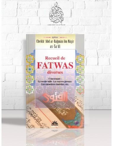 Recueil de Fatwas diverses - Cheikh as-Sa'di