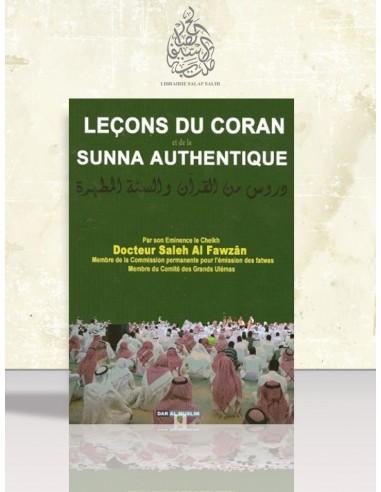 Leçons du Coran et de la Sounnah authentique - Cheikh el-Fawzan
