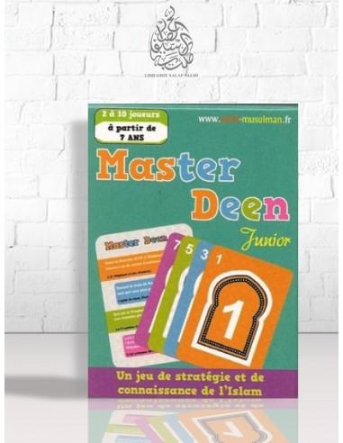 Master Deen Junior : Jeu de stratégie et de connaissance de l'Islam - 7 ans et plus