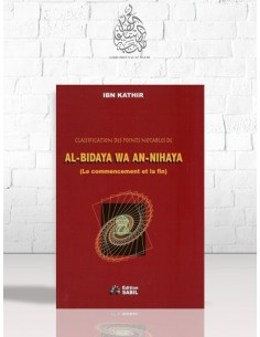 Classification des points notables de al-Bidaya wa an-Nihaya (Le commencement et la fin) - Ibn Kathir