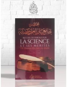 Recueil de Paroles sur la Science et ses mérites de l'imam IBN 'ABD AL-BARR