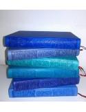 Rainbow Coran - Cuir gravé - Format moyen (14x20cm)