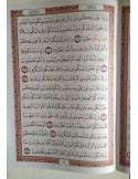 Cartable/Pochette en cuir pour Coran - Grand format (24x35cm)