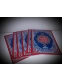 Cartable/Pochette en cuir pour Coran - Petit format (14x20cm)